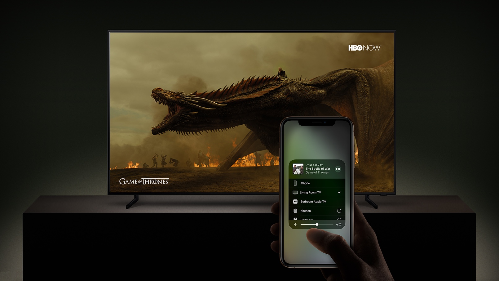 Samsung Smart TV AirPlay 2