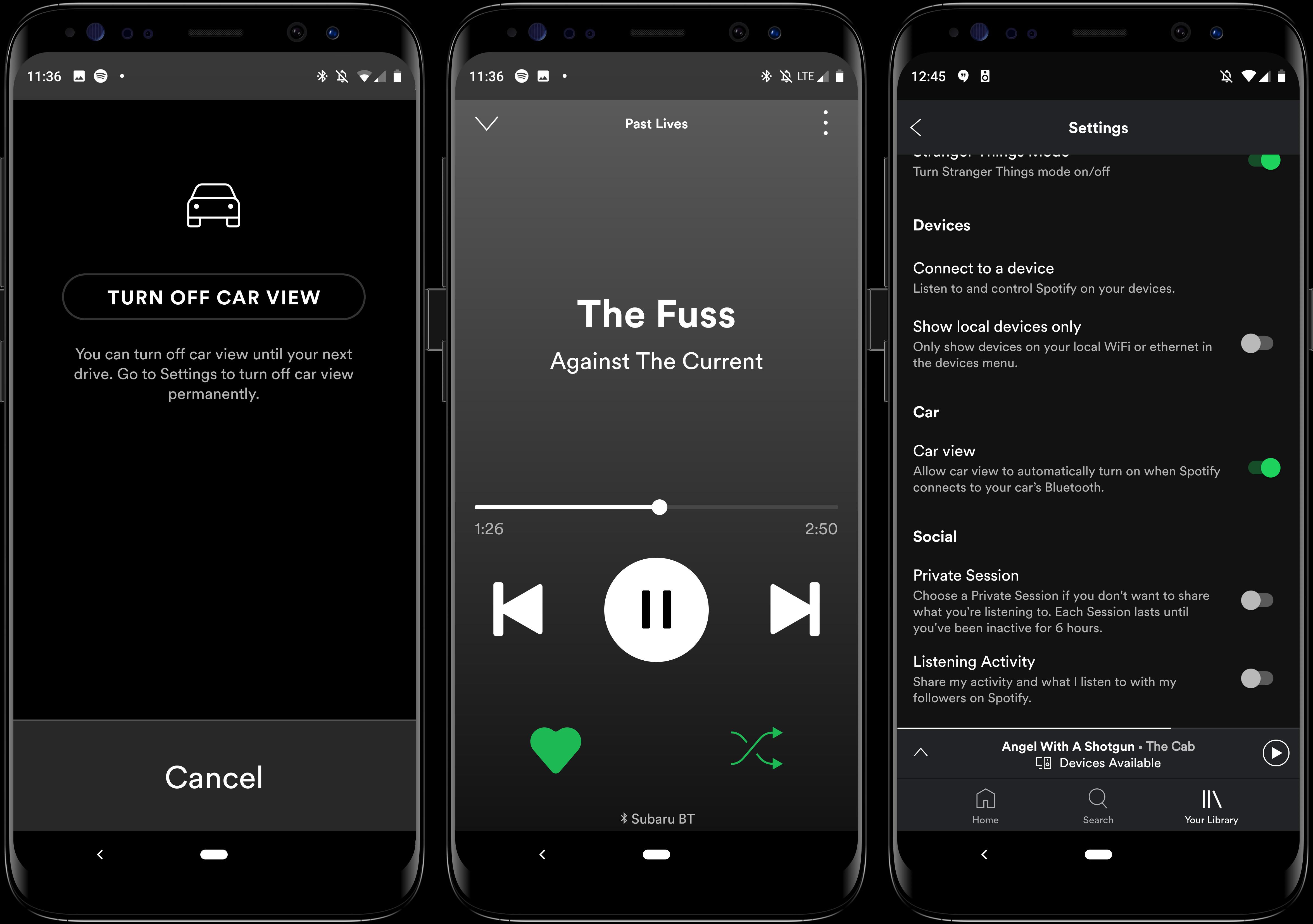 Spotify Car View 16x9