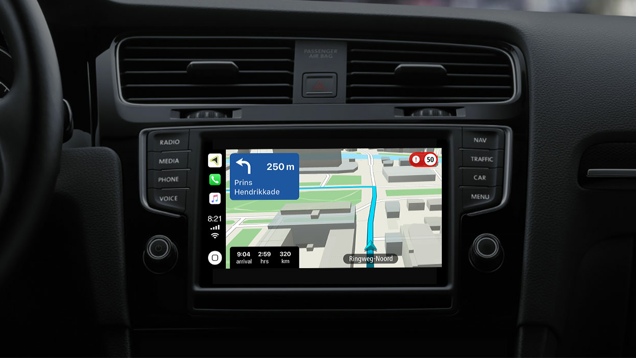 TomTom CarPlay auto