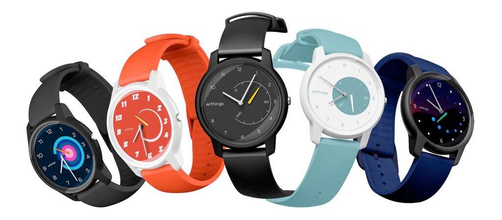 Withings Move ECG kleurtjes Apple Watch