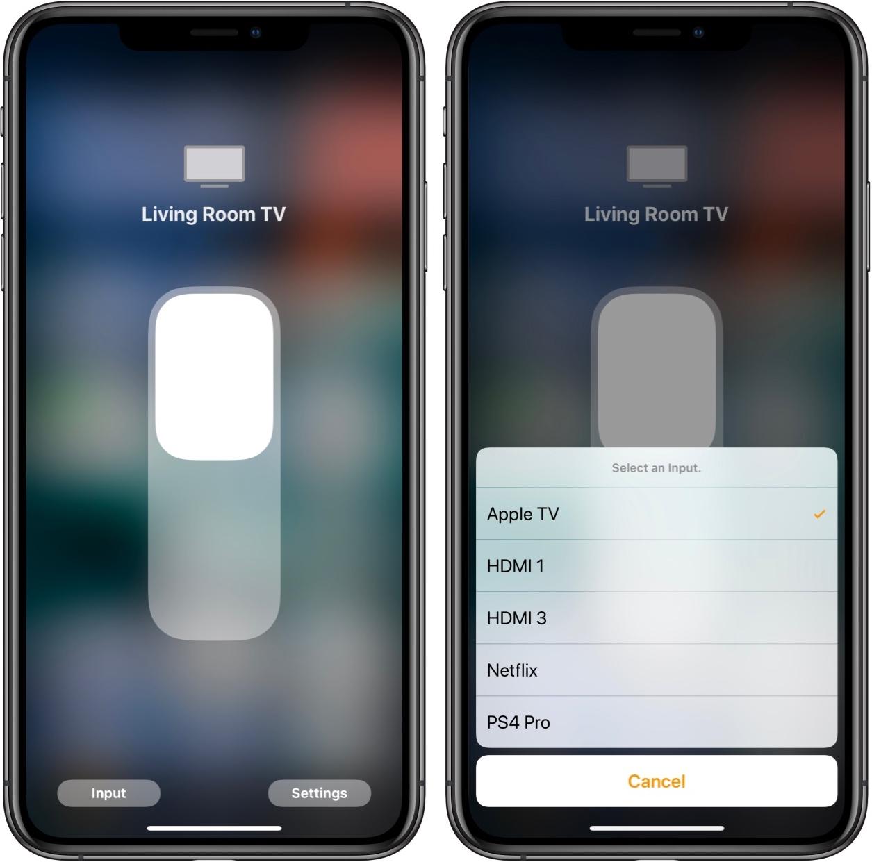 iOS 11.2 remote TV