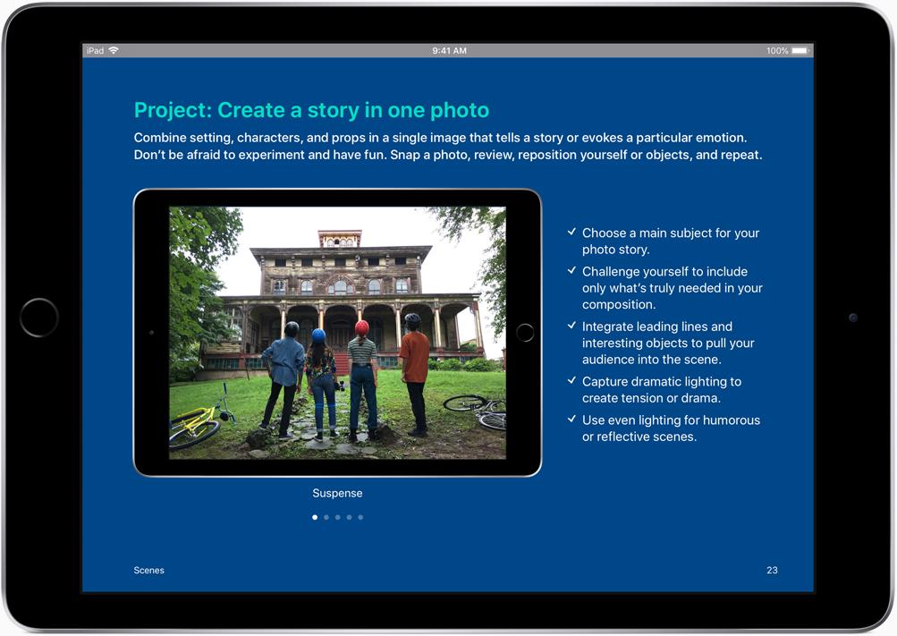 iPad onderwijs iedereen is creatief