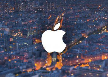 Apple Frankrijk logo 16x9