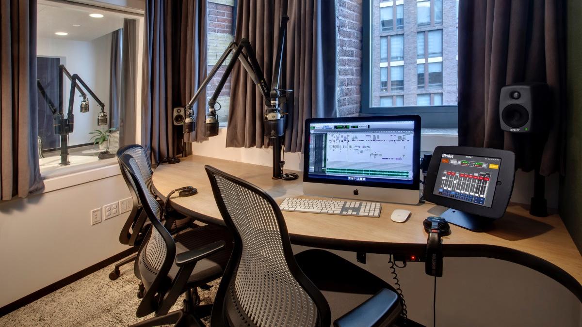 Gimlet Media studio