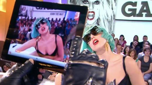 Karl Lagerfeld Lady Gaga iPad