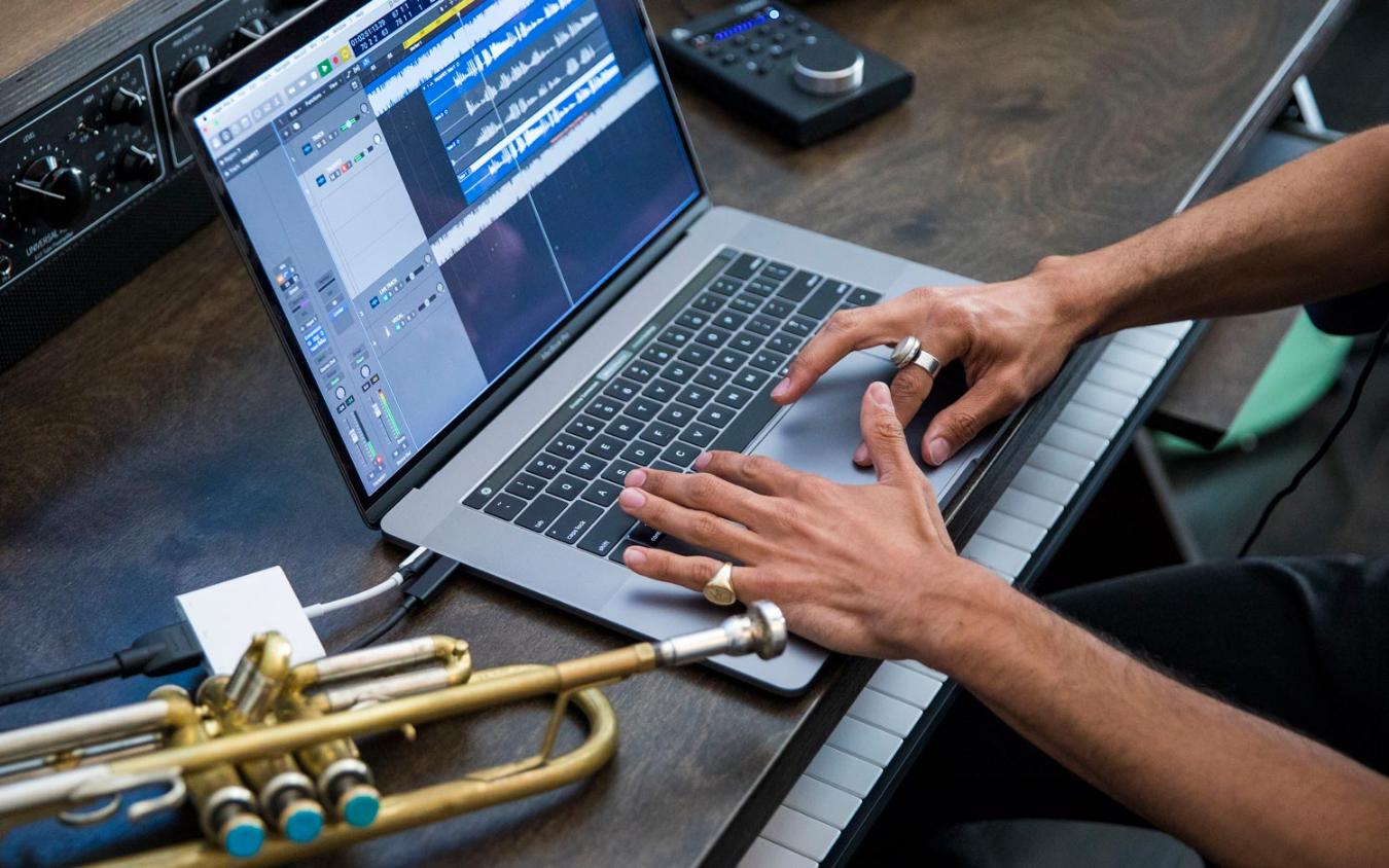 MacBook Pro T2-chip muziek