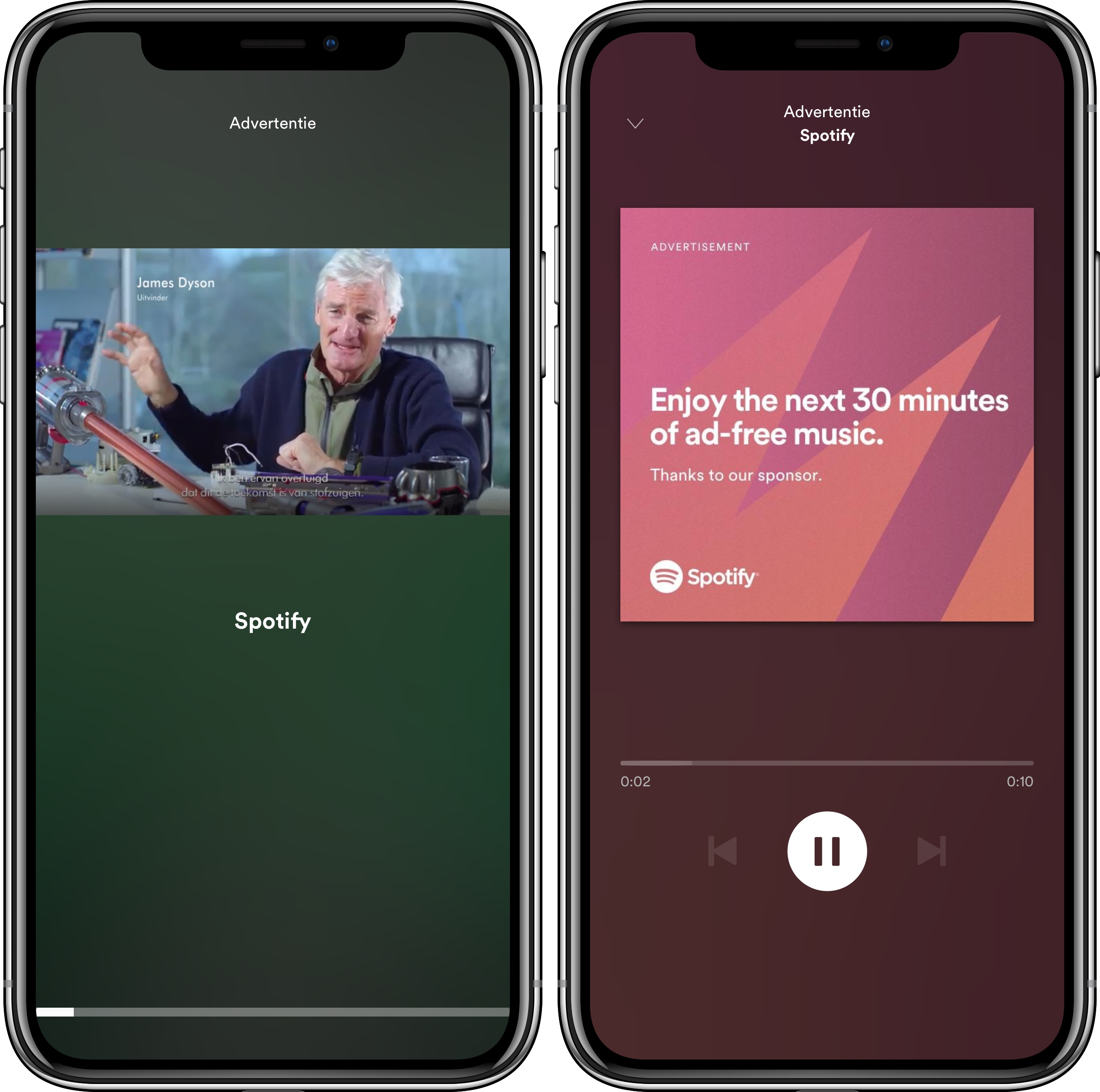 Spotify advertenties
