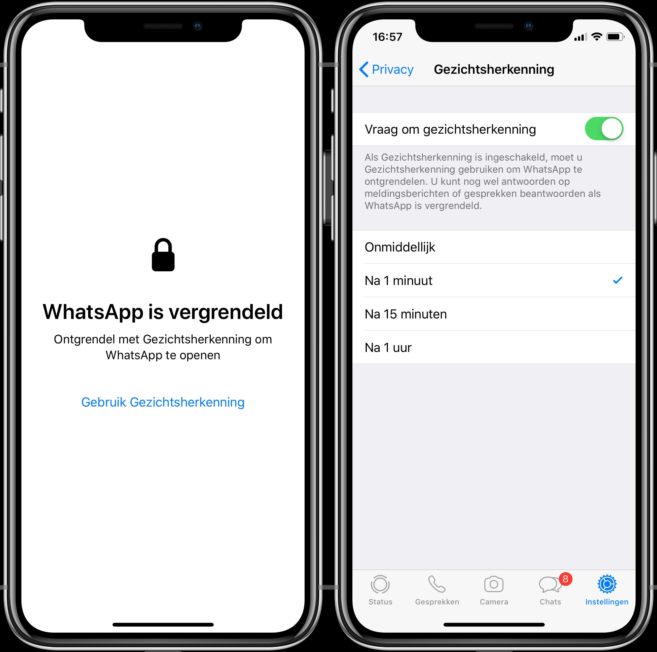 WhatsApp vergrendeld 001