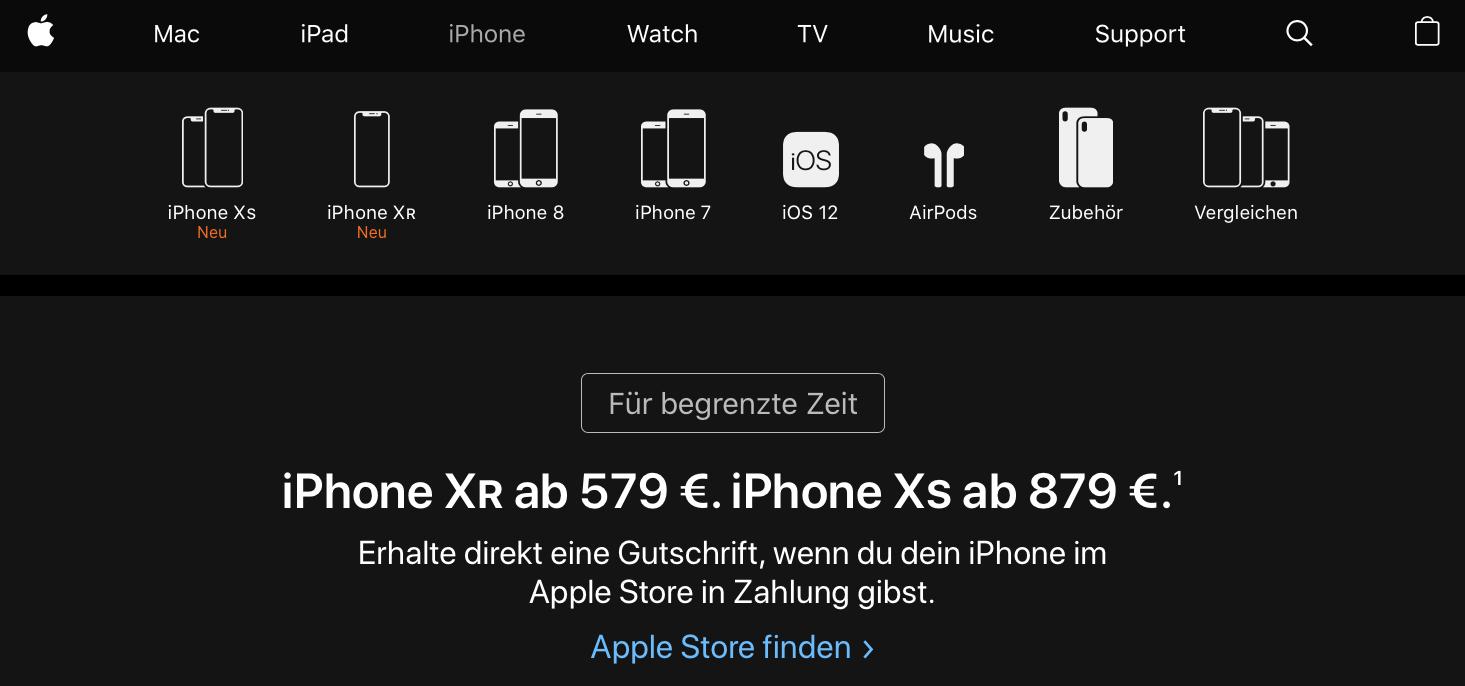 iPhone 7 en iPhone 8 Duitsland
