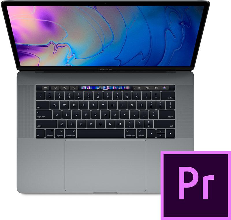 Premiere Pro, MacBook Pro