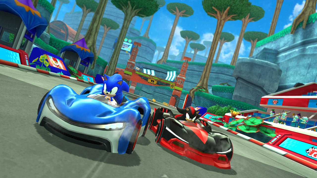 Apple Arcade Team Sonic Racing