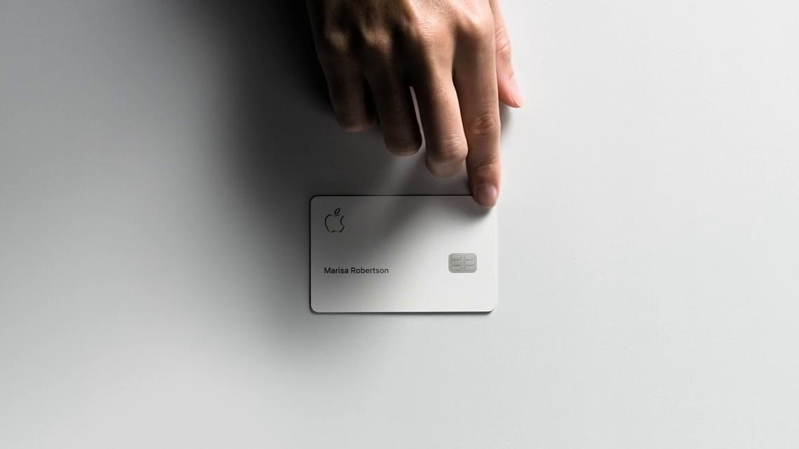 Apple card creditcard