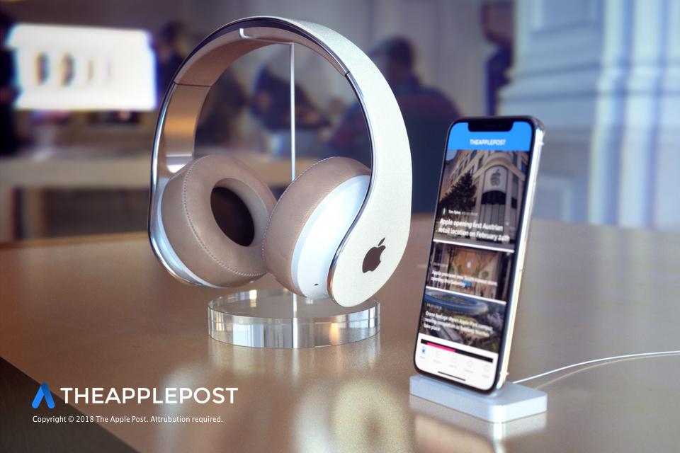 ApplePost Apple headphone