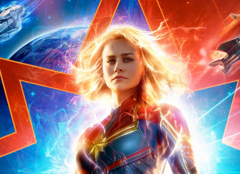 Captain Marvel Brie Larson 16x9