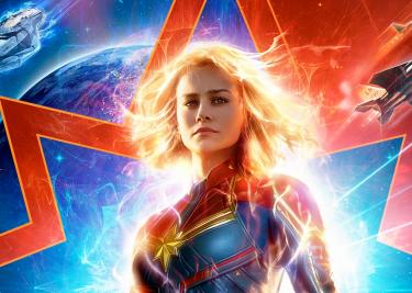 Captain Marvel Brie Larson 16x9