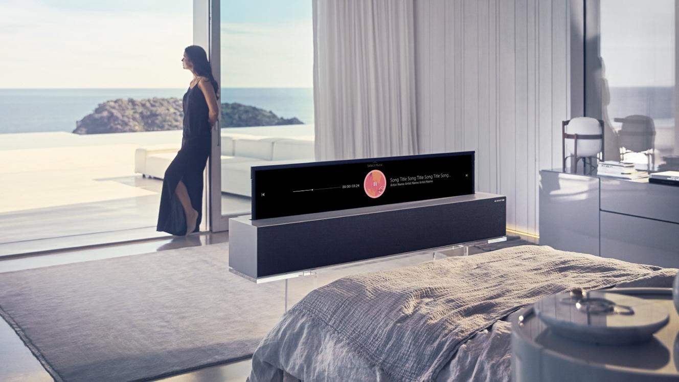 LG Rolbare TV