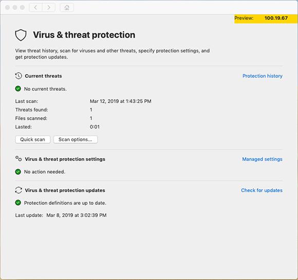 Microsoft Defender Mac