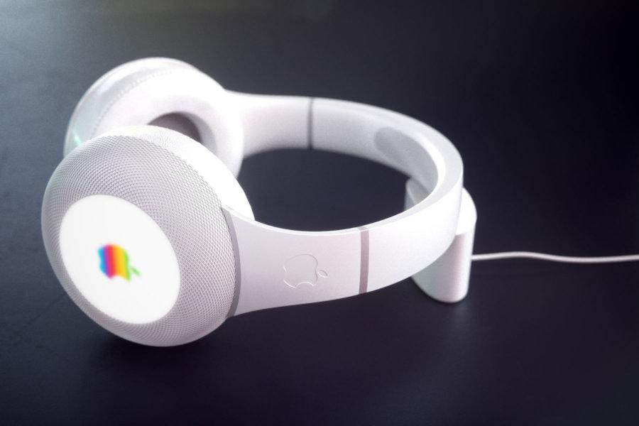curved_de Apple Headphone 2