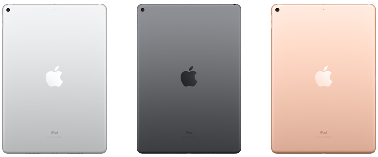 iPad Air 2019 kleuren