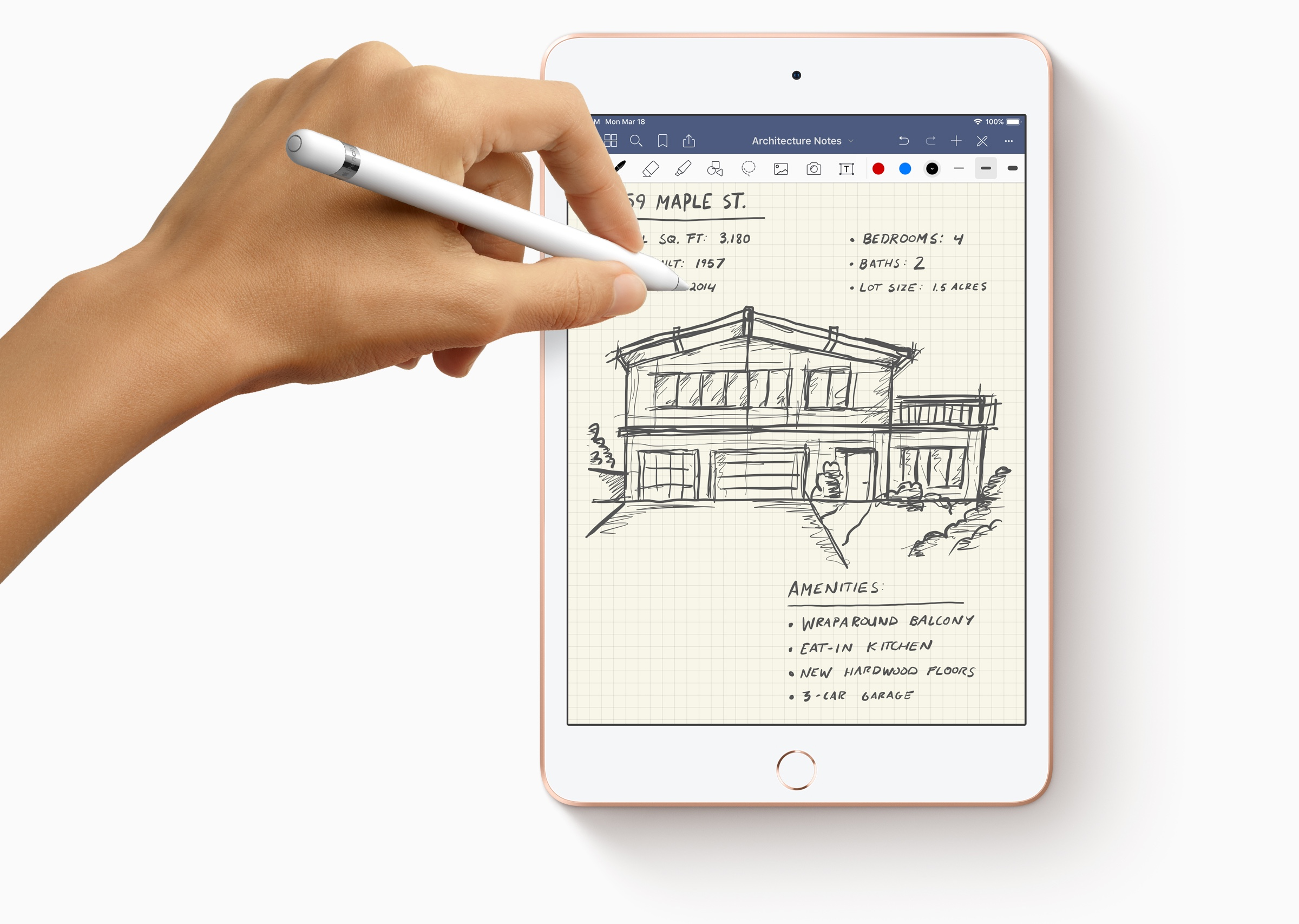 iPad mini 5 Apple Pencil 001