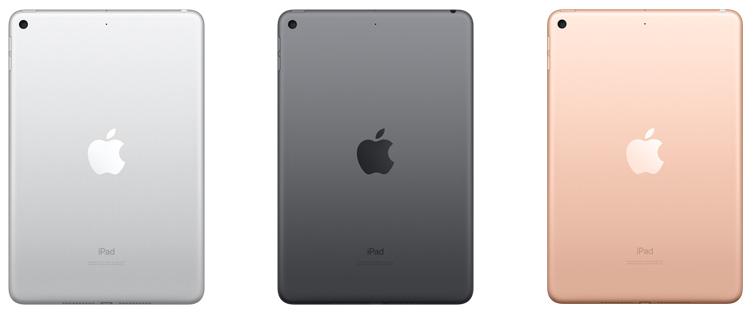 iPad mini 5 kleuren 001