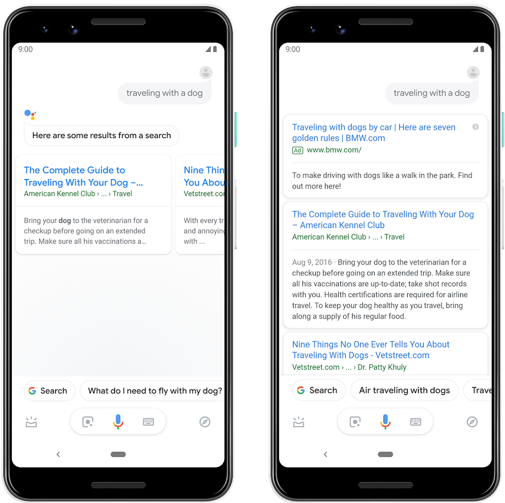 Adverteren Google Assistant Resultaten | Online Marketing Nieuws | Succesfactor.nu