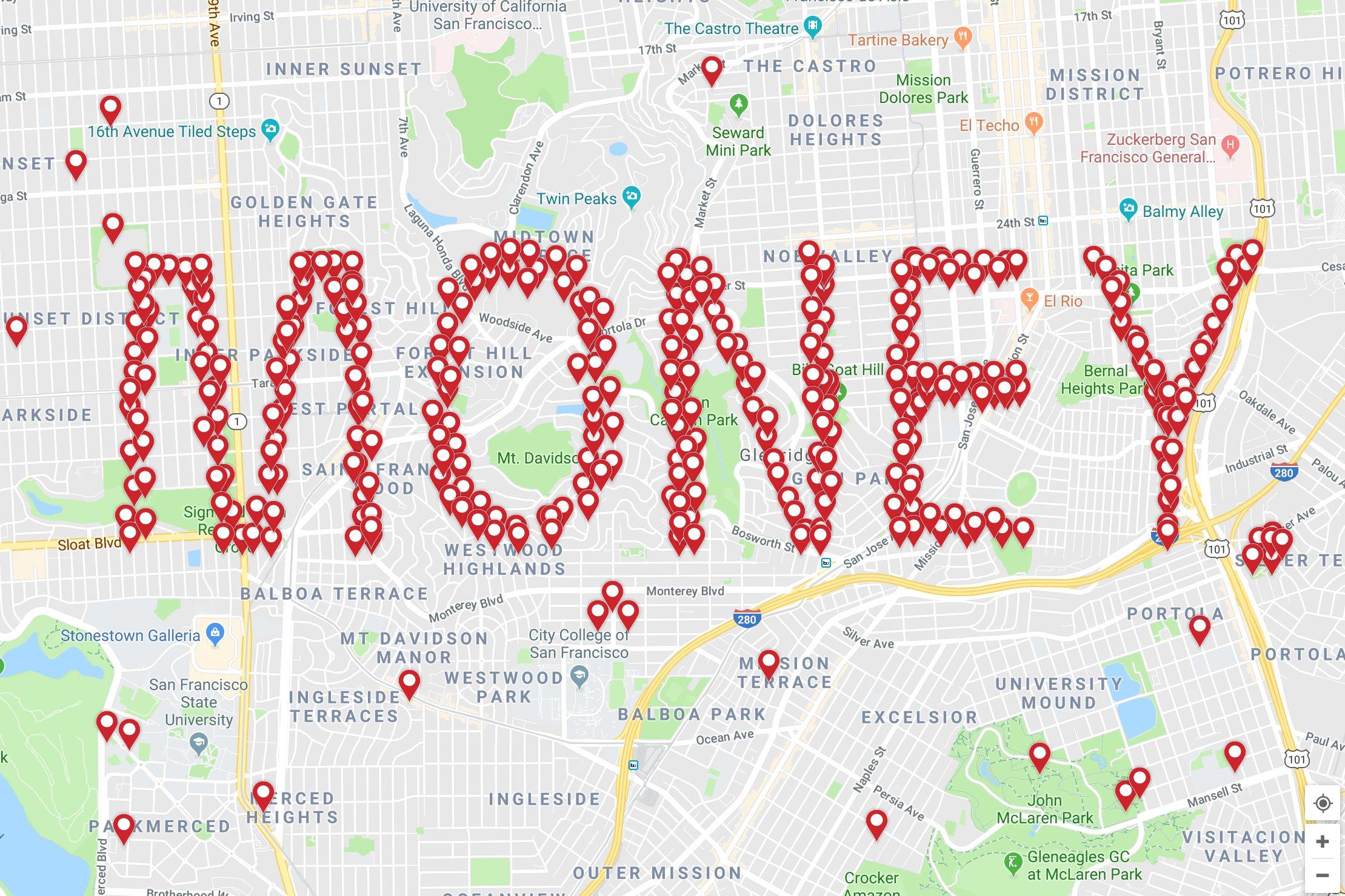 Google Maps GELD