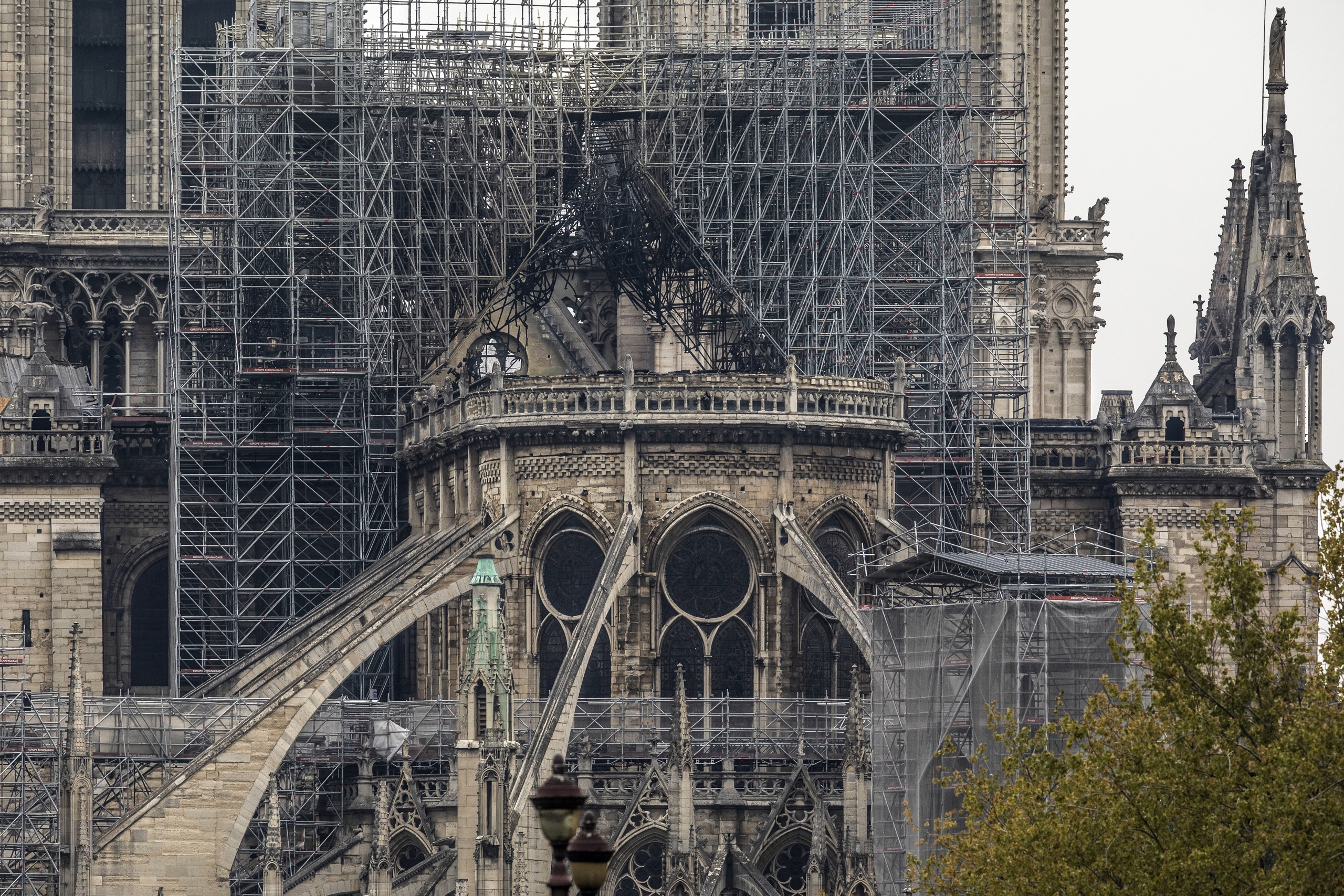 Notre-Dame restauratie