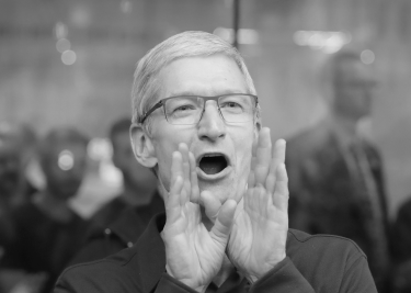Apple Tim Cook booh
