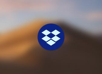dropbox logo macos 10.15