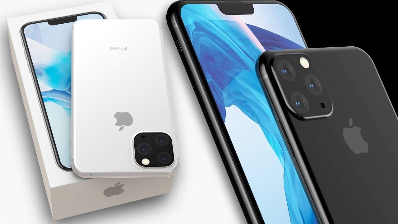 iPhone 11 2019 render