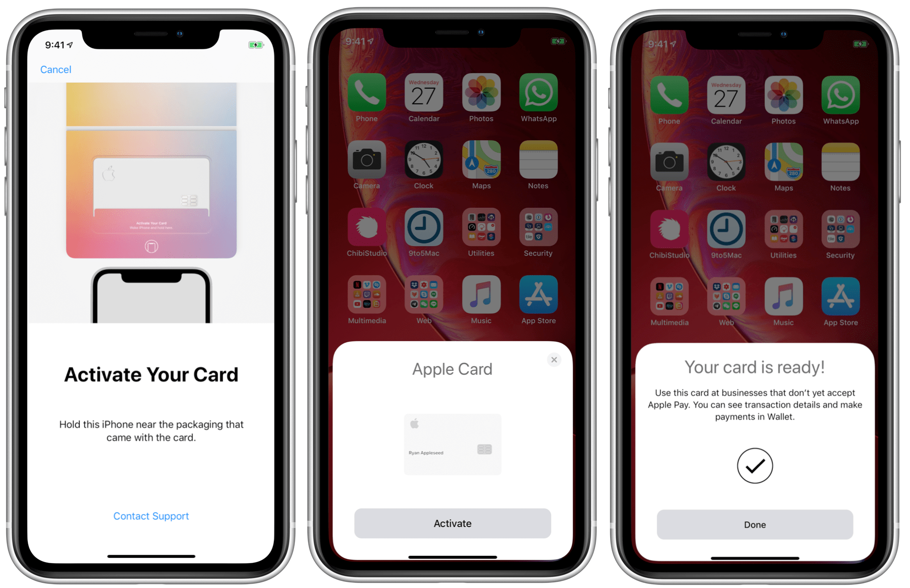 Apple Card activeren 001