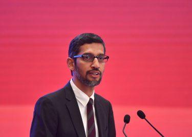 Google CEO Sundar Pichai privacy