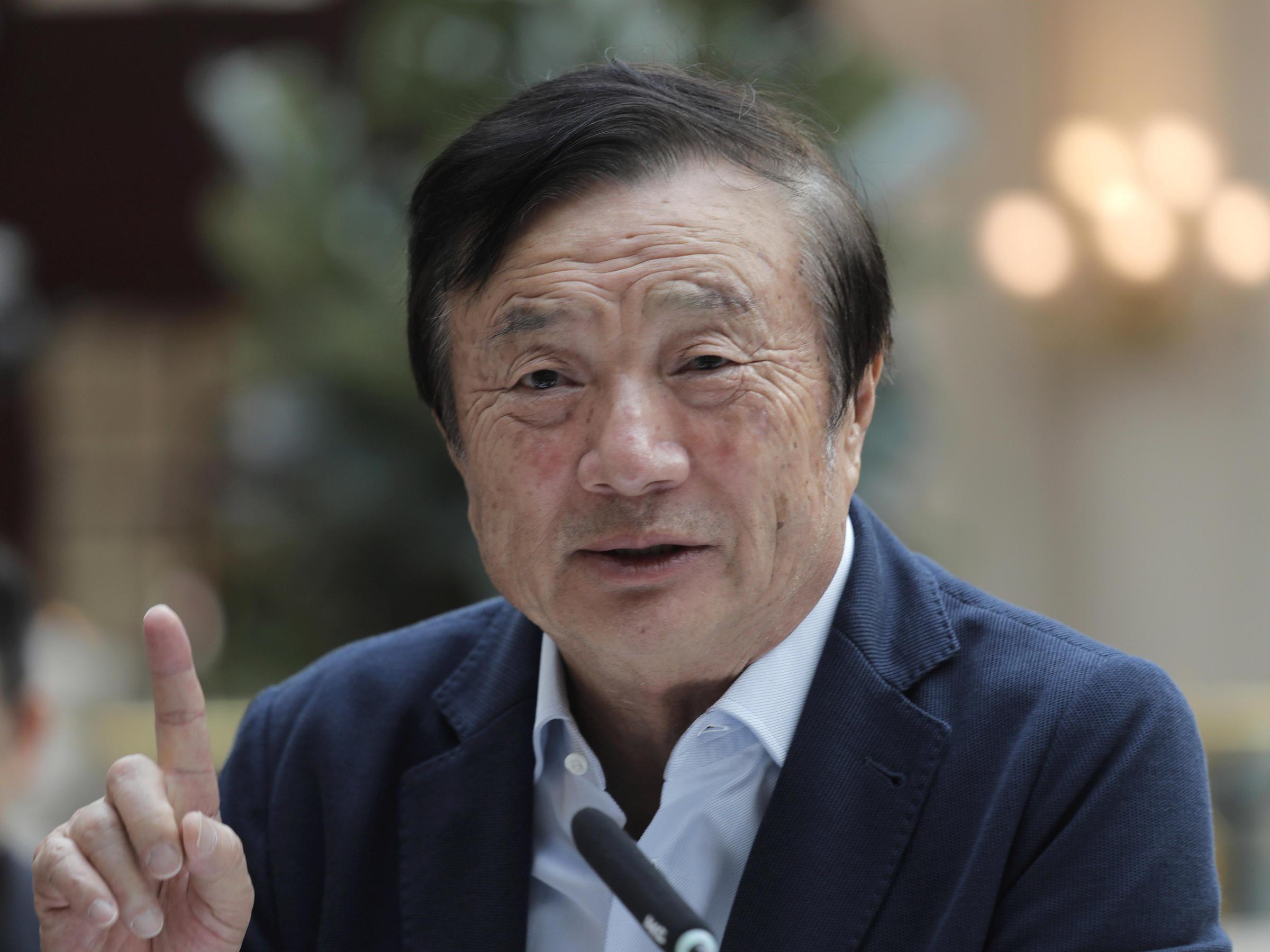 Huaweioprichter Ren Zhengfei