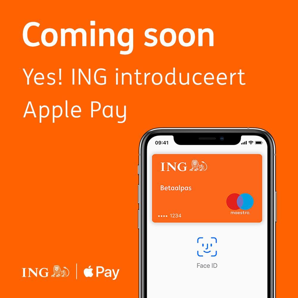 ING Apple Pay Nederland