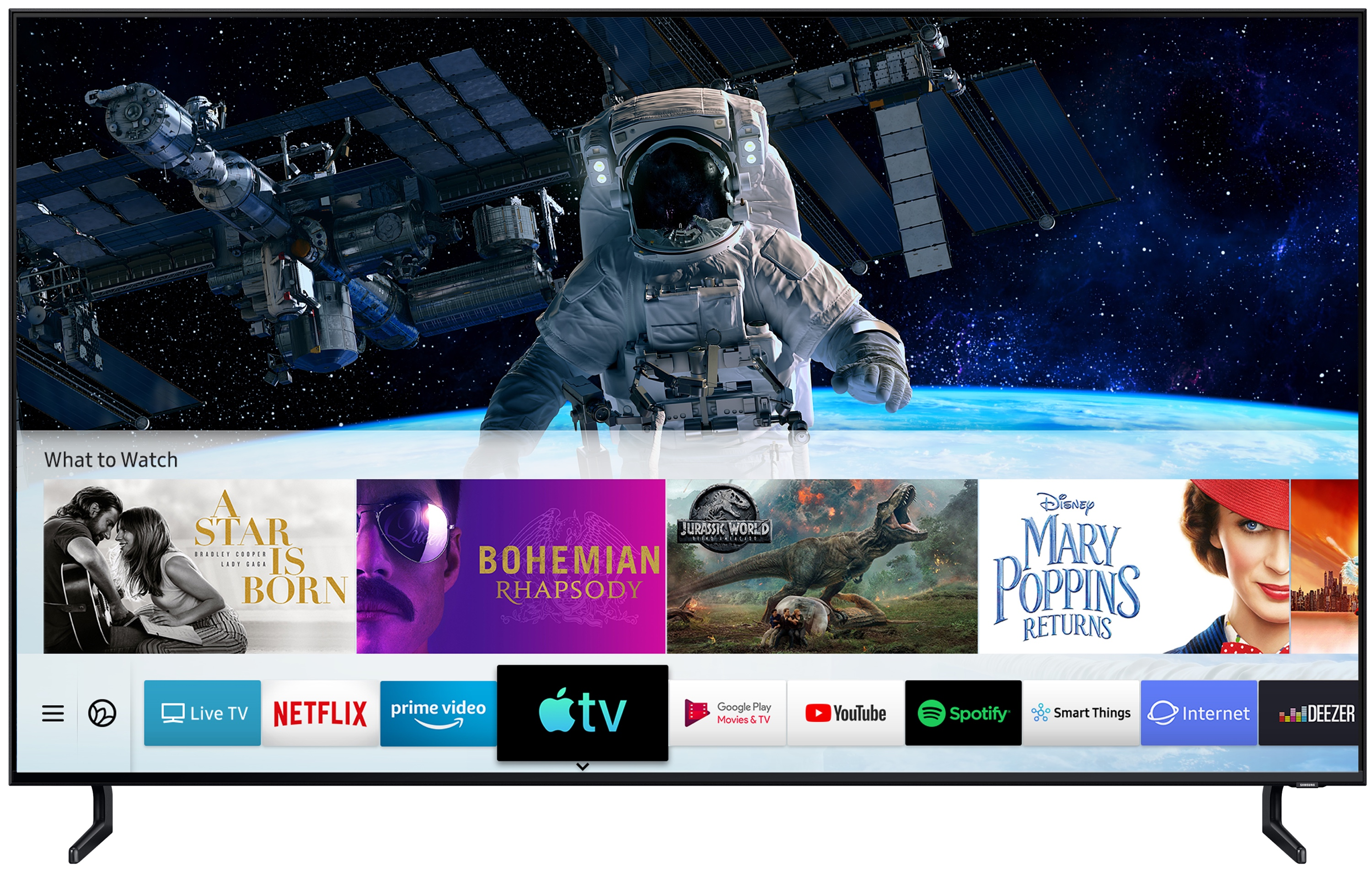 Samsung Apple TV-app AirPlay 2 Smart TV