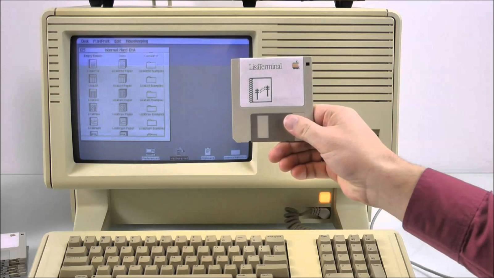 Apple Lisa Terminal