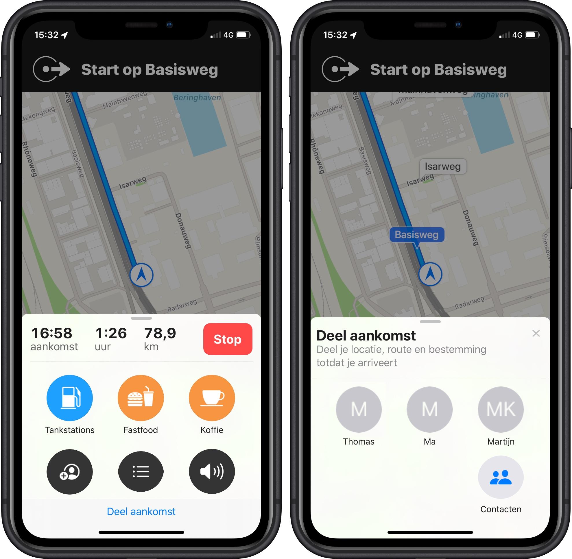 Apple Maps iOS 13 - 001