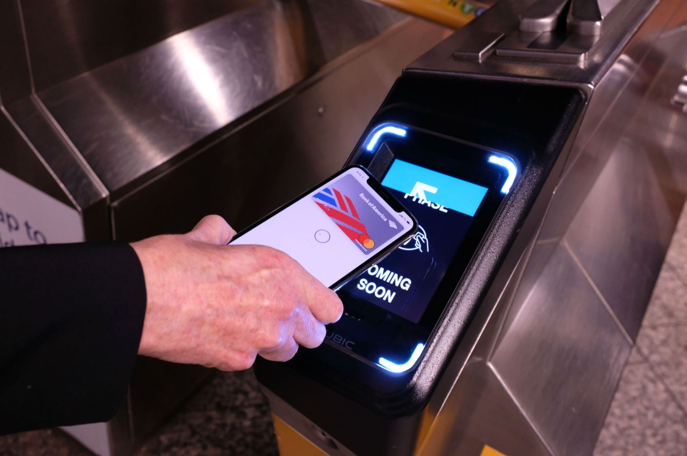 Apple Pay metro