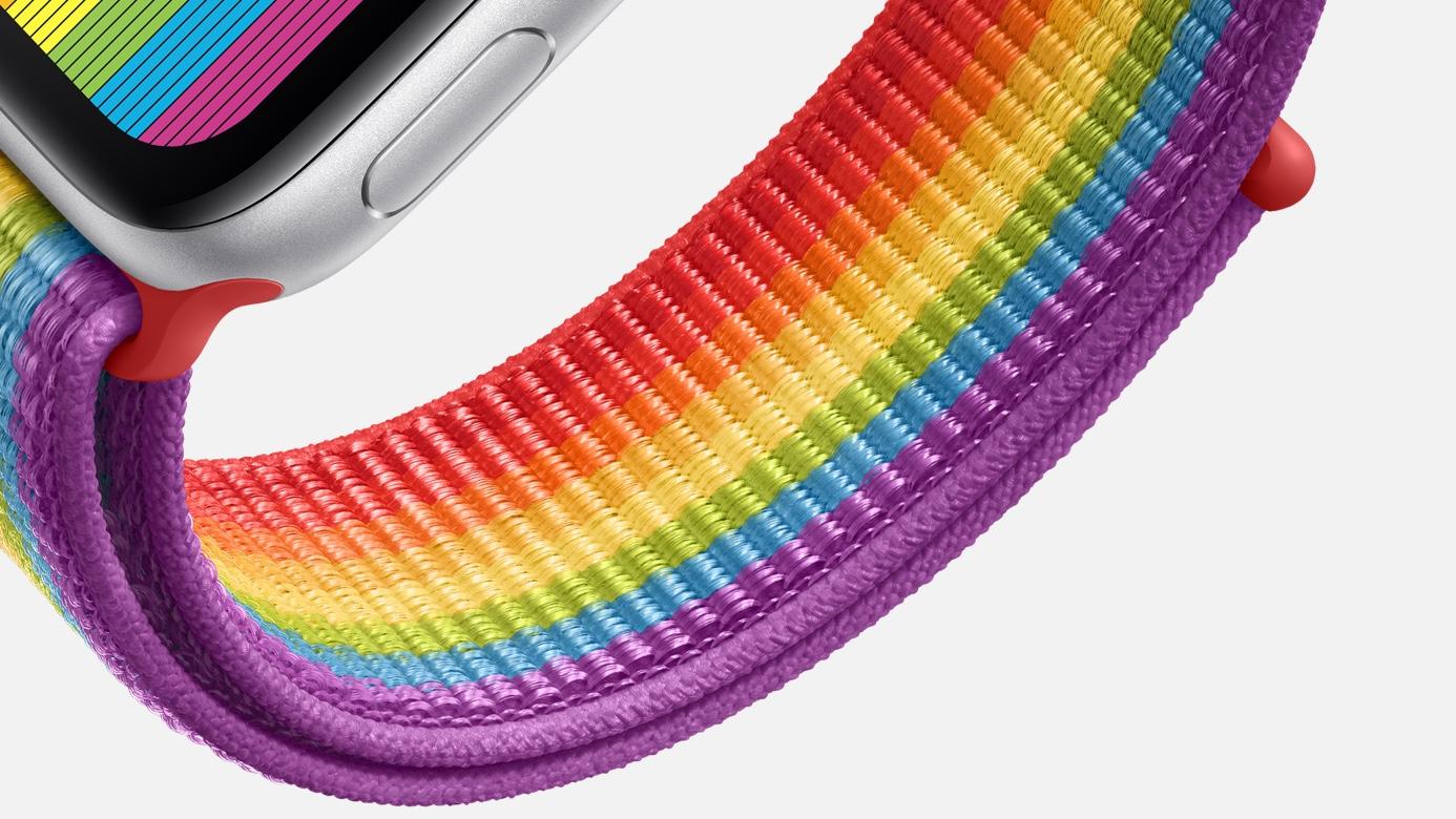 Apple Watch Pride 2019 bandje