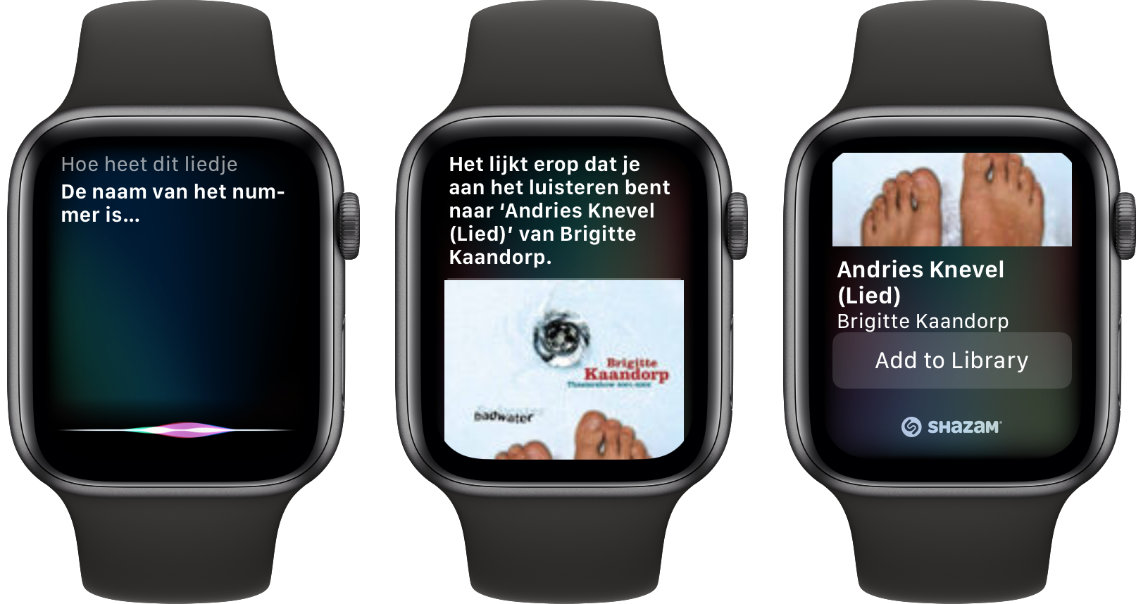 Apple Watch watchOS 6 Shazam 001