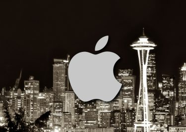 Apple hub in Seattle