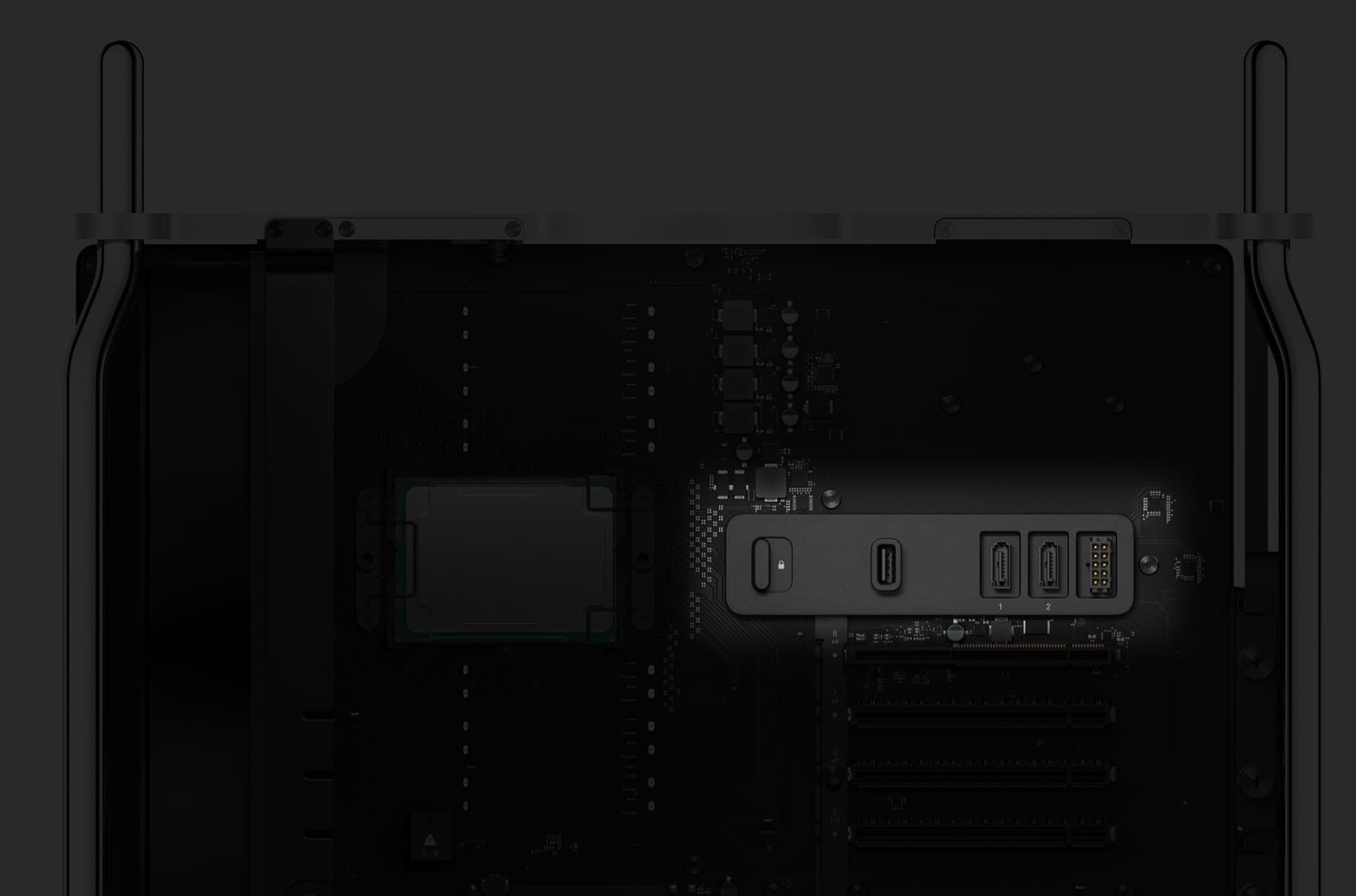 Mac Pro 2019 SATA