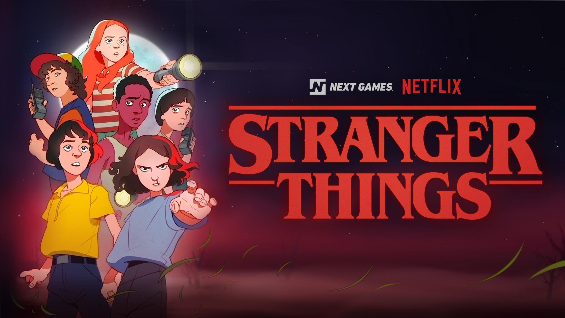 Netflix game stranger things
