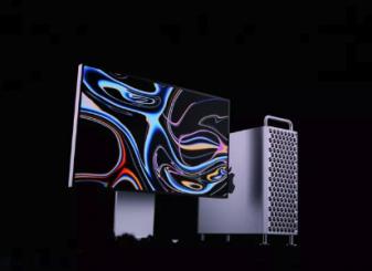 De nieuwe Mac Pro (klik/tap voor groter).