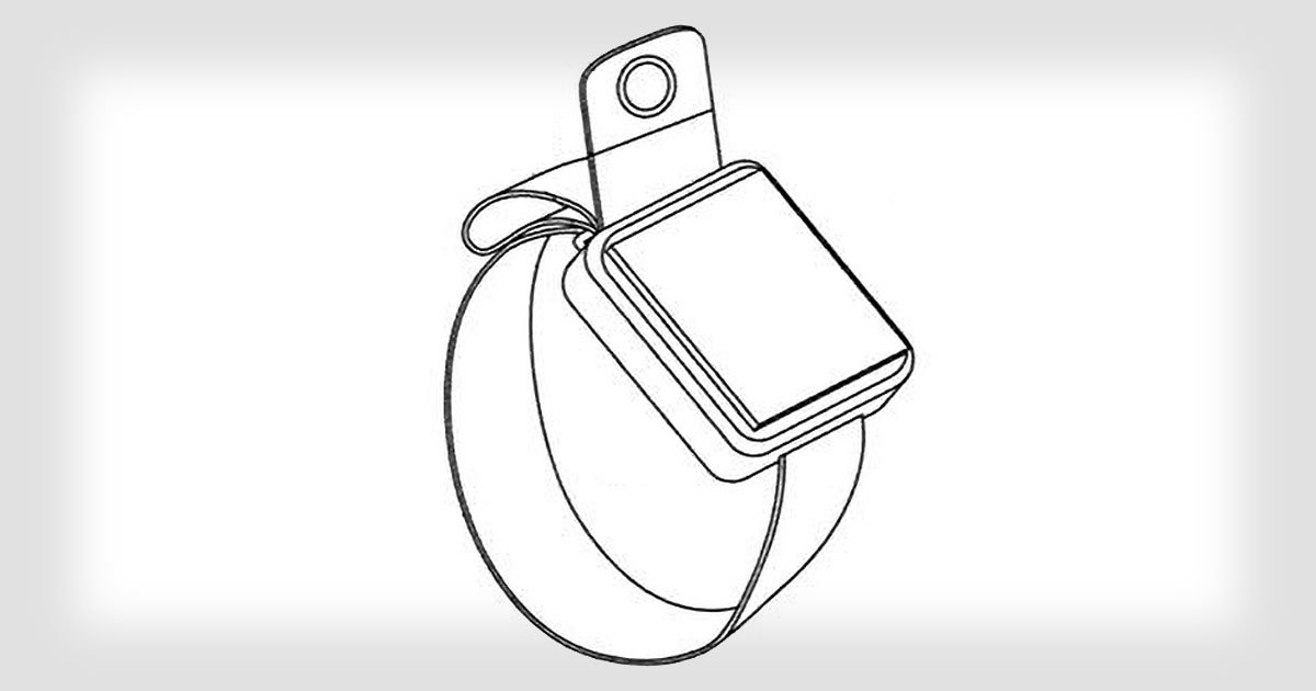 Patent: camera in bandje Apple Watch