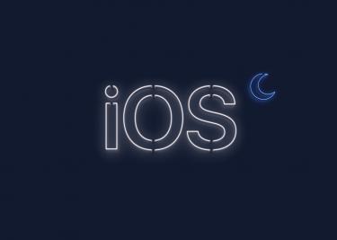 iOS Dark Mode
