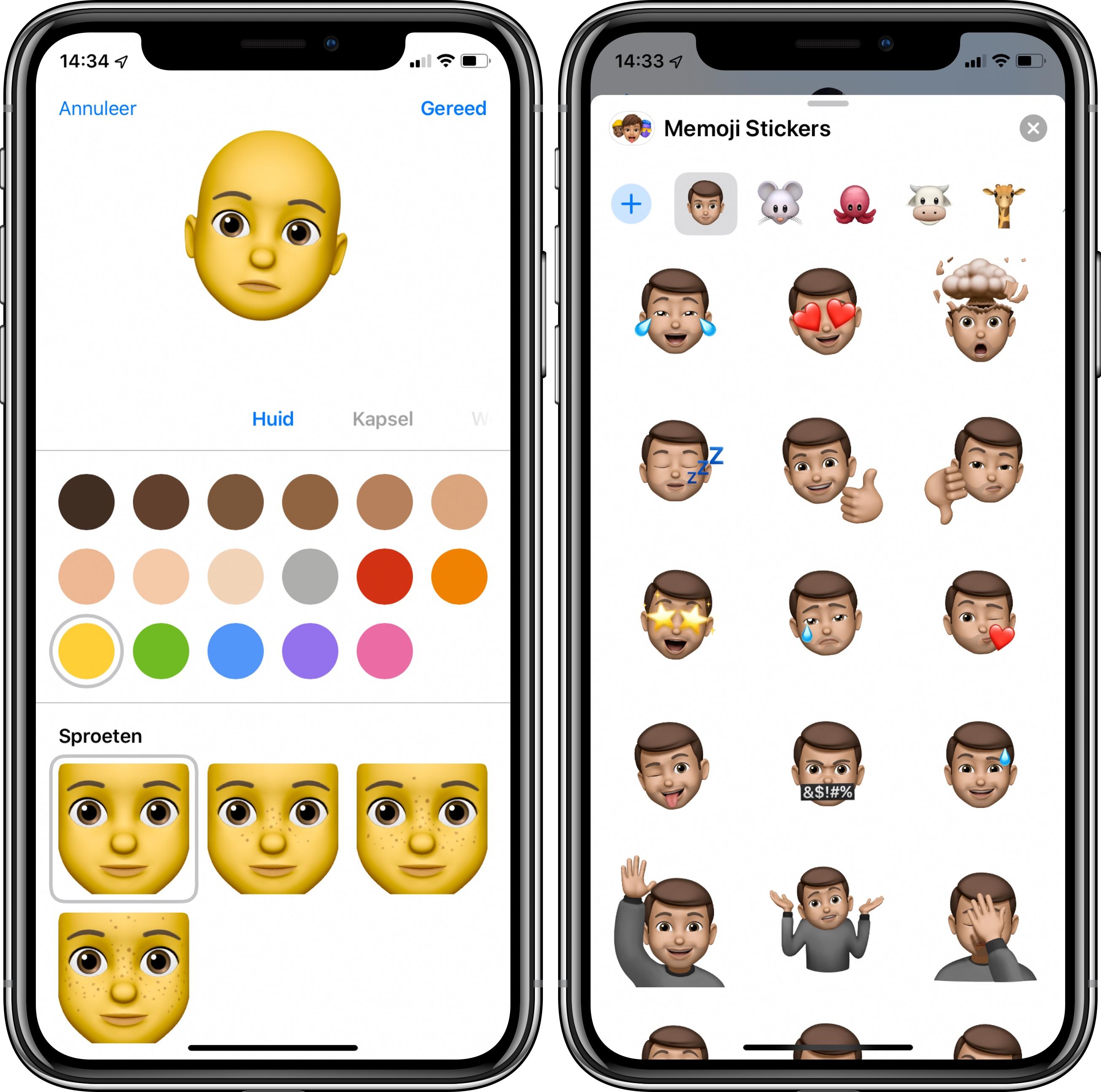 iOS 13 memoji stickers 001 iPhone
