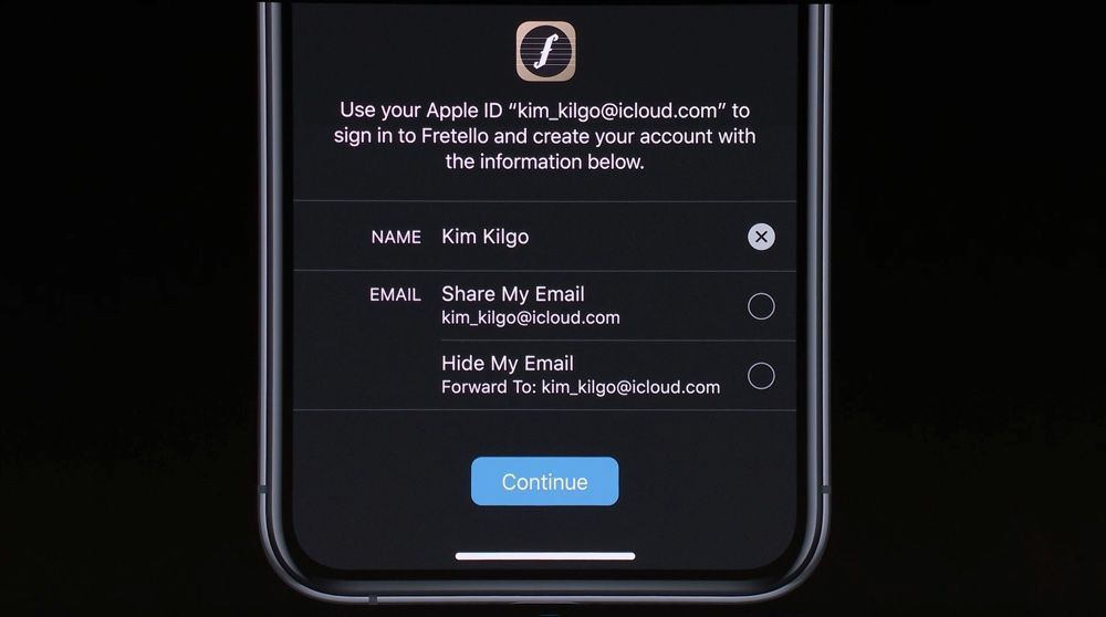 sign in with apple 001