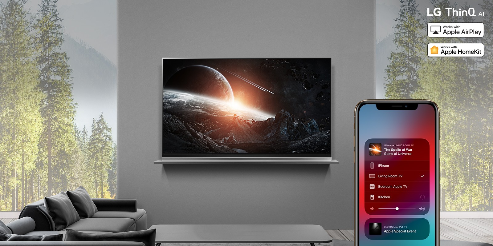 AirPlay2 2019 LG TV
